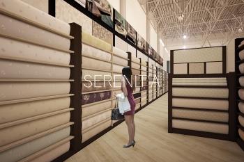 дизайн зала магазина