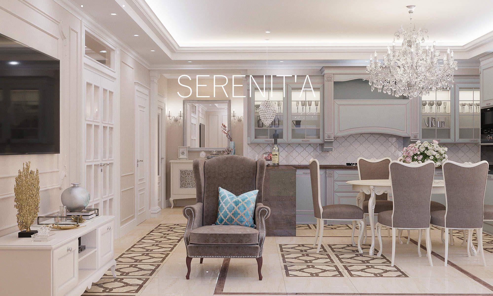 Дизайн интерьера квартиры Волгоград